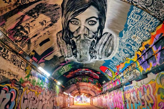 Leake Street Tunnel, Waterloo, Londres