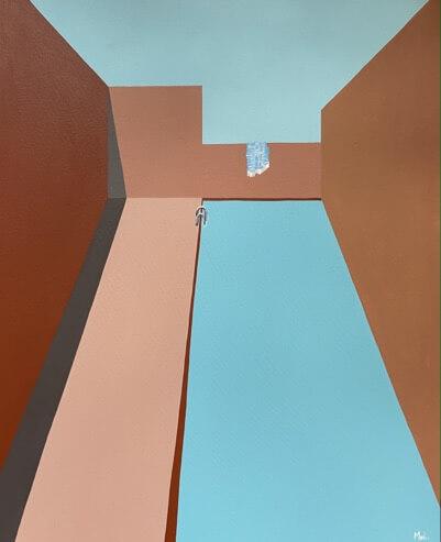 pools in contemporary art Moi Dolce vita