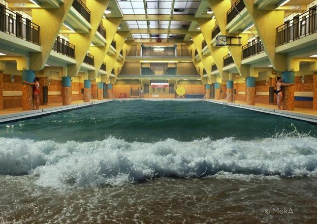Moka, Parisian pool exhibition to discover, 2016