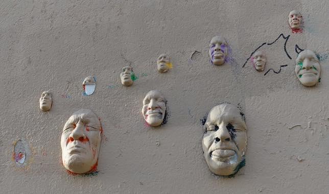 Street art de Gregos à Montmartre
