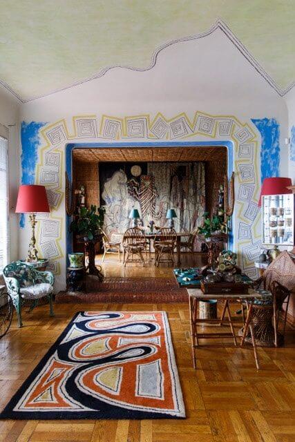 Villa d'artiste Santo Sospir by Jean Cocteau - Saint Jean Cap Ferrat