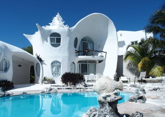 Maison coquillage villa d'artiste