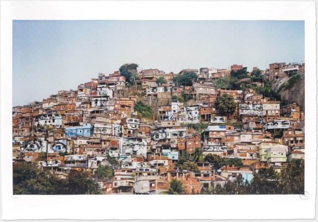 28 Millimeters, Women Are Heroes, JR, 2008 - Favela Morro Da Providencia