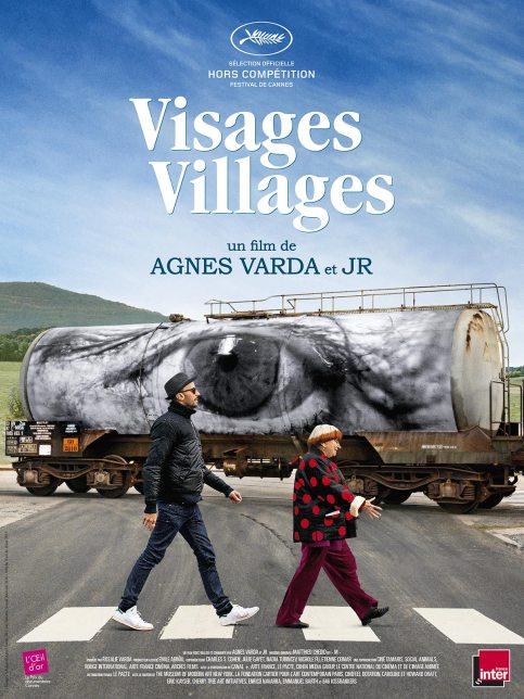 Poster of the film Visages, Villages, JR, 2016