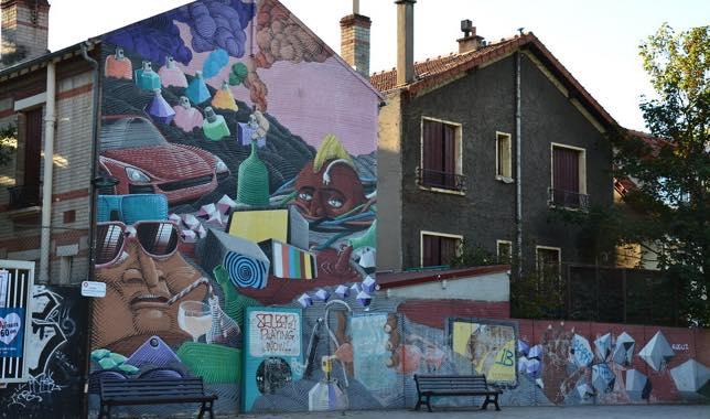 Street art à Vitry-sur-Seine, Paris