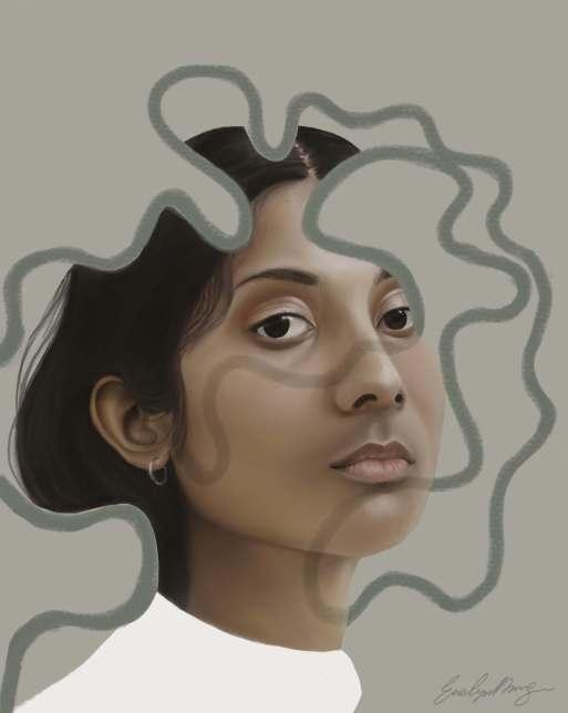 Hypnotised #4,Evelyn Morgan,, peinture digitale
