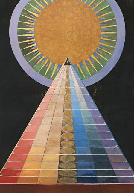 """""""Altarpiece"""" de Hilma af Klimt, 1907"""