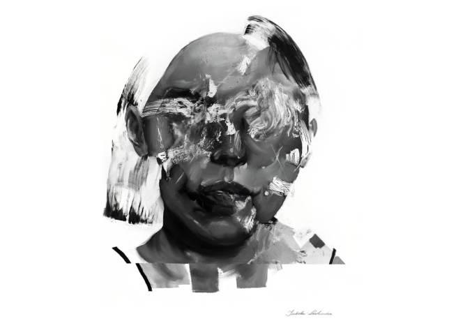 Regarde moi - Reproduction digigraphie,Izabela Lewkowicz, 2021, photographie art numérique